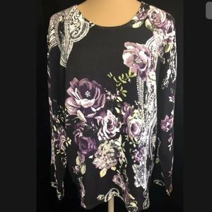 Women's Plus Career Embellished Sweater 2X
